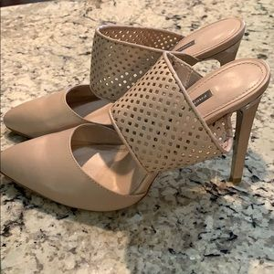French Connection tan heels size 9